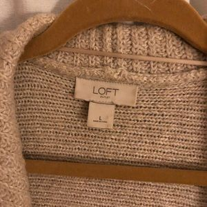 LOFT Jackets & Coats - Sweater vest